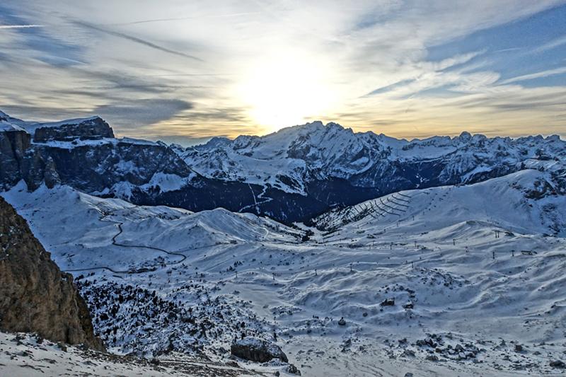 Morgenstimmung Dolomiten